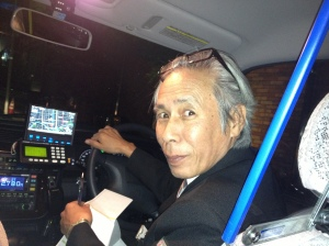 Super sweet taxi driver-- Watanabe.